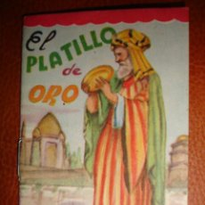 Libros antiguos: EL PLATILLO DE ORO. Lote 22019883