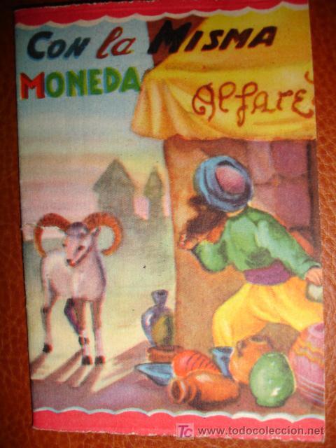 CON LA MISMA MONEDA (Libros Antiguos, Raros y Curiosos - Literatura Infantil y Juvenil - Cuentos)