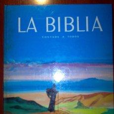 Libros antiguos: LA BIBLIA CONTADA A TODOS - 1959. Lote 25937954
