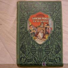Libros antiguos: SANCHO PANZA EN SU INSULA CERVANTES. Lote 19442006