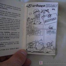 Libros antiguos: EL URBANO RAMÓN,CUENTO PUBLICITARIO DE PIJAMAS SUBIRA,AÑOS 60. Lote 21988431