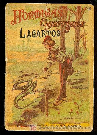 CALLEJA ,CUENTOS PARA NIÑOS TOMO 108-HORMIGAS ,CIGARRONES LAGARTOS (Libros Antiguos, Raros y Curiosos - Literatura Infantil y Juvenil - Cuentos)