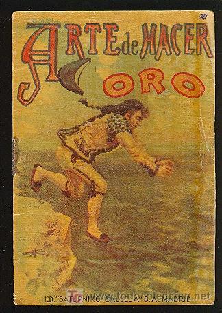 CALLEJA ,CUENTOS PARA NIÑOS TOMO 93-ARTE DE HACER ORO (Libros Antiguos, Raros y Curiosos - Literatura Infantil y Juvenil - Cuentos)