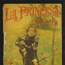 Alte Bücher - CALLEJA ,CUENTOS PARA NIÑOS TOMO 110-LA PRINCESA RUBITA-MEDIDA:10 cm/14.5 cm - 24160839