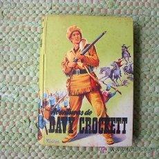 Libros antiguos: COLECCIN JUVENIL CADETE, Nº 134. AVENTURAS DE DAVY CROCKETT, JORGE GUBERN. Lote 3680888