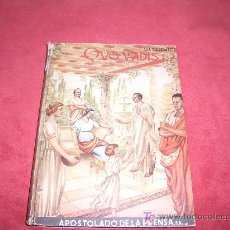 Libros antiguos: QUO VADIS 1946. Lote 24654043