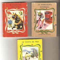 Libros antiguos: LOTE DE 3 CUENTECITOS MOLINO. Lote 26583249