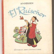 Livros antigos: EL RUISEÑOR .-ANDERSEN. Lote 27459165