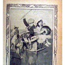 Alte Bücher - GENTE MENUDA (PERIODICO INFANTIL) -DOMINGO 21 DE FEBRERO DE 1909 AÑO IV NUM.60 - 4150025