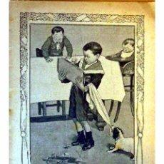 Libros antiguos: GENTE MENUDA (PERIODICO INFANTIL) -DOMINGO 2 DE MAYO DE 1909 AÑO IV NUM.70. Lote 4156576