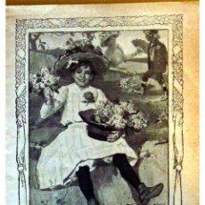 Libros antiguos: GENTE MENUDA (PERIODICO INFANTIL) -DOMINGO 9 DE MAYO DE 1909 AÑO IV NUM.71. Lote 4156588