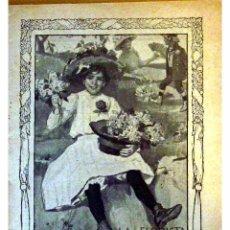 Libros antiguos: GENTE MENUDA (PERIODICO INFANTIL) -DOMINGO 9 DE MAYO DE 1909 AÑO IV NUM.71. Lote 4156595