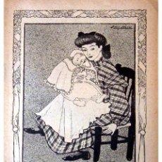 Libros antiguos: GENTE MENUDA (PERIODICO INFANTIL) -DOMINGO 30 DE MAYO DE 1909 AÑO IV NUM.74. Lote 4156618