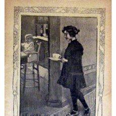 Libros antiguos: GENTE MENUDA (PERIODICO INFANTIL) -DOMINGO 7 DE NOVIEMBRE DE 1909 AÑO IV NUM.97. Lote 4200564