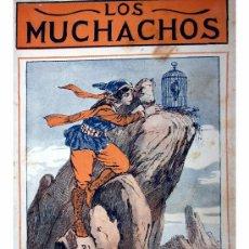 Libros antiguos: LOS MUCHACHOS -SEMANARIO -DOMINGO 12 DE JULIO DE 1914 , NUM.9. Lote 14348361