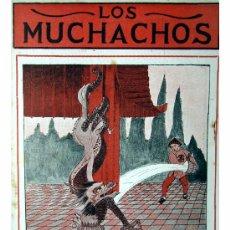 Libros antiguos: LOS MUCHACHOS -SEMANARIO -DOMINGO 9 DE AGOSTO DE 1914 , NUM.13. Lote 16802429