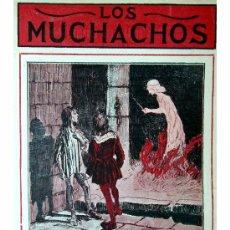 Libros antiguos: LOS MUCHACHOS -SEMANARIO -DOMINGO 30 DE AGOSTO DE 1914 , NUM.16. Lote 16802432