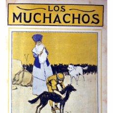 Libros antiguos: LOS MUCHACHOS -SEMANARIO -DOMINGO 13 DE SEPTIEMBRE DE 1914 , NUM.18. Lote 14442341