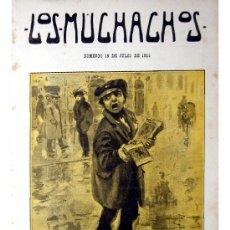 Libros antiguos: LOS MUCHACHOS -SEMANARIO -DOMINGO 18 DE JULIO DE 1915 , NUM.62. Lote 14442335