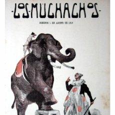Libros antiguos: LOS MUCHACHOS -SEMANARIO -DOMINGO 1 DE AGOSTO DE 1915 , NUM.64. Lote 4925495