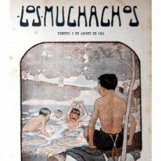 Libros antiguos: LOS MUCHACHOS -SEMANARIO -DOMINGO 8 DE AGOSTO DE 1915 , NUM.65. Lote 14442337