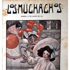 Libros antiguos: LOS MUCHACHOS -SEMANARIO -DOMINGO 15 DE AGOSTO DE 1915 , NUM.66. Lote 14442338