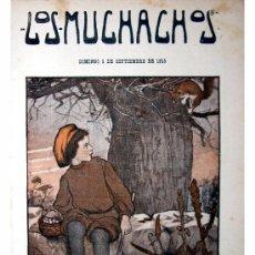Libros antiguos: LOS MUCHACHOS -SEMANARIO -DOMINGO 5 DE SEPTIEMBRE DE 1915 , NUM.69. Lote 14442339