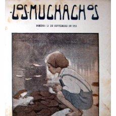 Libros antiguos: LOS MUCHACHOS -SEMANARIO -DOMINGO 12 DE SEPTIEMBRE DE 1915 , NUM.70. Lote 14442340
