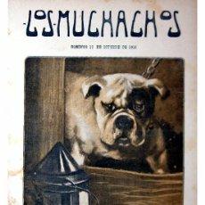 Libros antiguos: LOS MUCHACHOS -SEMANARIO -DOMINGO 10 DE OCTUBRE DE 1915 , NUM.74. Lote 14348349