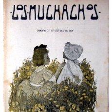 Libros antiguos: LOS MUCHACHOS -SEMANARIO -DOMINGO 17 DE OCTUBRE DE 1915 , NUM.75. Lote 14348350