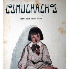 Libros antiguos: LOS MUCHACHOS -SEMANARIO -DOMINGO 24 DE OCTUBRE DE 1915 , NUM.76. Lote 14348351