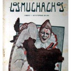 Libros antiguos: LOS MUCHACHOS -SEMANARIO -DOMINGO 7 DE NOVIEMBRE DE 1915 , NUM.78. Lote 14348353
