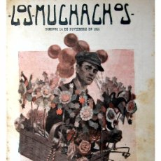 Libros antiguos: LOS MUCHACHOS -SEMANARIO -DOMINGO 14 DE NOVIEMBRE DE 1915 , NUM.79. Lote 14348354
