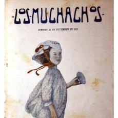 Libros antiguos: LOS MUCHACHOS -SEMANARIO -DOMINGO 28 DE NOVIEMBRE DE 1915 , NUM.81. Lote 14348356
