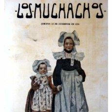 Libros antiguos: LOS MUCHACHOS -SEMANARIO -DOMINGO 12 DE DICIEMBRE DE 1915 , NUM.83. Lote 14348357