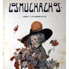 Libros antiguos: LOS MUCHACHOS -SEMANARIO -DOMINGO 19 DE DICIEMBRE DE 1915 , NUM.84. Lote 14348358