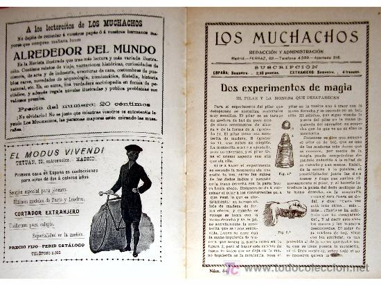 Libros antiguos: LOS MUCHACHOS -SEMANARIO -DOMINGO 19 DE DICIEMBRE DE 1915 , NUM.84 - Foto 2 - 14348358