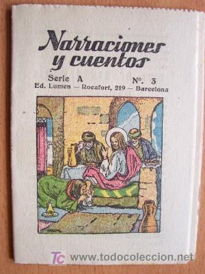 Libros antiguos: NARRACIONES Y CUENTOS SERIE A COMPLETA - 12 EJEMPLARES - EDITORIAL LUMEN SIN FECHA - IMPECABLES - Foto 2 - 25951259