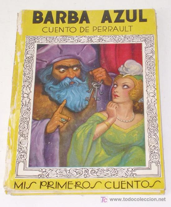 BARBA AZUL, CUENTO DE PERRAULT, AÑO 1938 (Libros Antiguos, Raros y Curiosos - Literatura Infantil y Juvenil - Cuentos)