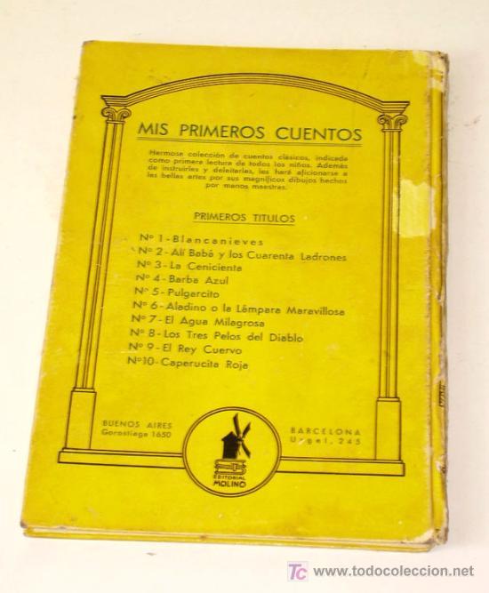 Libros antiguos: BARBA AZUL, CUENTO DE PERRAULT, AÑO 1938 - Foto 2 - 27074714