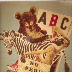 Libros antiguos: ABC DU PERE CASTOR / DESSINS DE ROJAN. PARIS : FLAMMARION, 1936. 28 X 24 CM. 24 P.. Lote 26008143