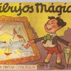 Libros antiguos: DIBUJOS MAGICOS PARA PINTAR CON AGUA / DIB. RODOLFO DAN. BS. AS. : SIGMAR, 1947. Lote 5879689