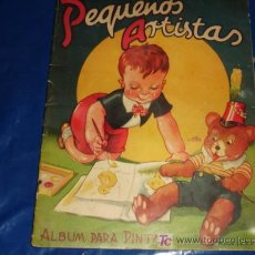 Libros antiguos: PEQUEÑOS ARTISTAS ALBUM PARA PINTAR ANTIGUO . Lote 10855779