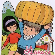 Libros antiguos: CUENTO TROQUELADO, LA CALABAZA AMARILLA. CUENTOS GUENDALINA. EDICIONES TORAY. Lote 4838468