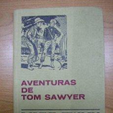 Libros antiguos: LAS AVENTURAS DE TOM SAWYER, CLASICOS JUVENILES Nº 8, ED. BRUGUERA, 10ª DÉCIMA EDICIÓN,1977. Lote 4988590