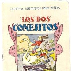 Libros antiguos: LOS DOS CONEJITOS / DIB. VICENTE. CUENTOS ILUSRADOS PARA NIÑOS. BARCELONA : SOPENA, S.F. Lote 5252900