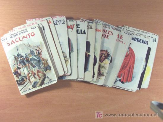 LOTE DEL 1 AL 18 SERIE IV EPISODIOS HISTÓRICOS DE RAMÓN SOPENA EDITOR - LOTE (Libros Antiguos, Raros y Curiosos - Literatura Infantil y Juvenil - Cuentos)