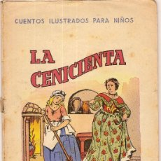 Libros antiguos: LA CENICIENTA.BARCELONA : R. SOPENA, S.F. 17 X 12 CM. 16 PAG.. Lote 5898684