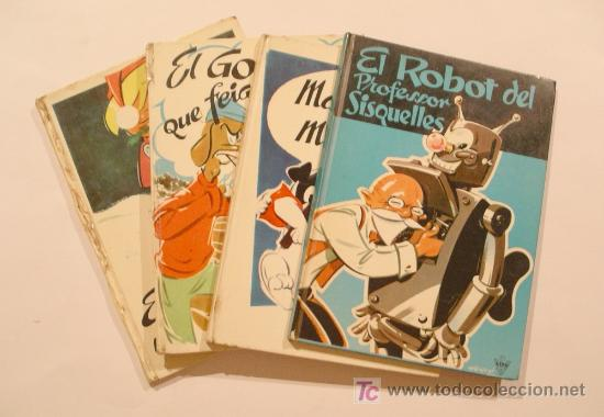 SERIE DE 4 CONTES EDITORIAL LITO, EN TAPA DURA. DIBUJOS HERVÉ Y TEXTO MAGÍ TERRADES (Libros Antiguos, Raros y Curiosos - Literatura Infantil y Juvenil - Cuentos)