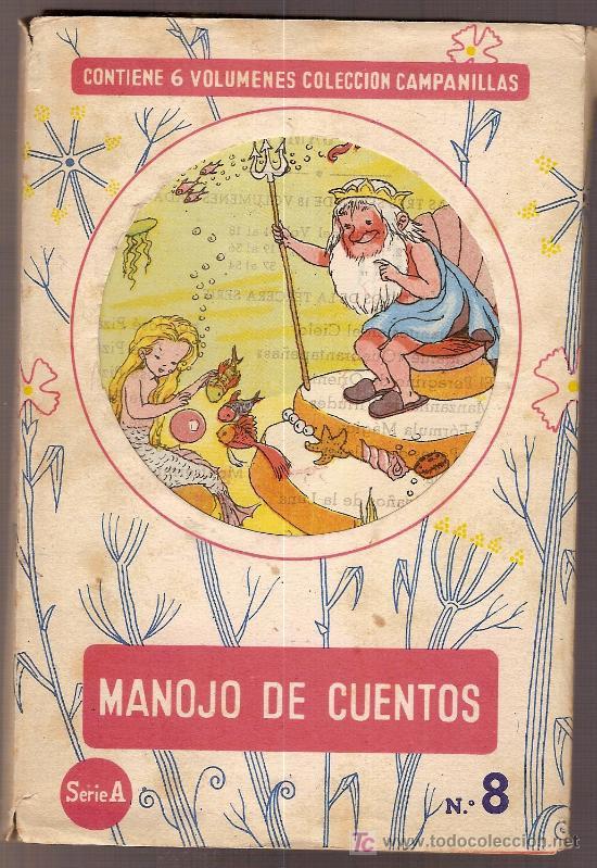 MANOJO DE CUENTOS / DIB. FERRANDIZ . SERIE A Nº 8. CONTIENE 6 VOLS.+ ESTUCHE. COL.CAMPANILLAS. (Libros Antiguos, Raros y Curiosos - Literatura Infantil y Juvenil - Cuentos)